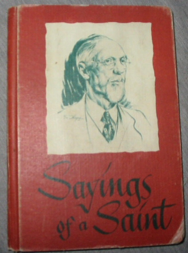 Image for Sayings of a Saint - from the Sermons of George Albert Smith