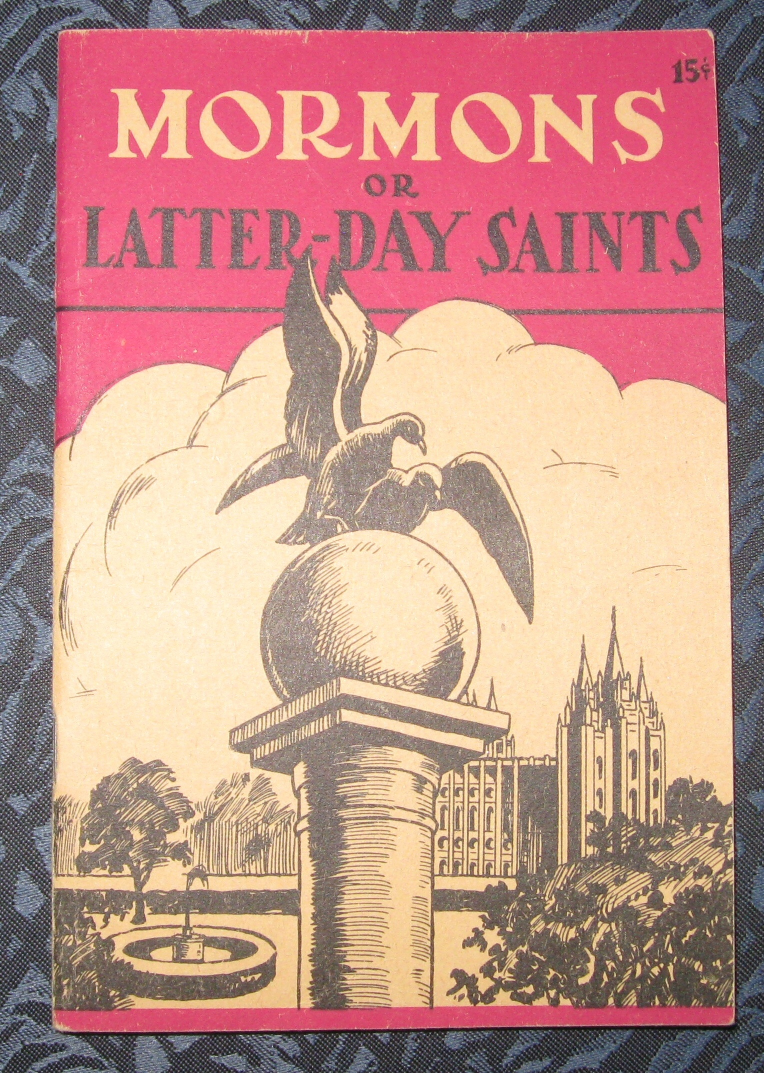 Image for THE MORMONS OR LATTER-DAY SAINTS