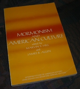 Image for MORMONISM AND AMERICAN CULTURE