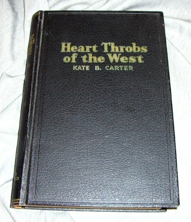 Image for HEART THROBS OF THE WEST - VOL 12 A Unique Volume Treating Definite Subjects of Western History