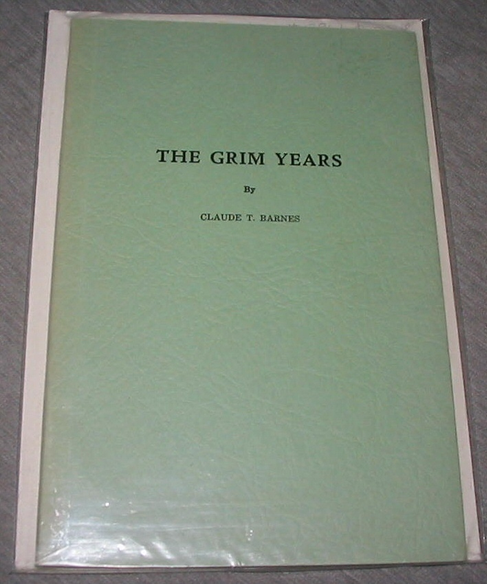 Image for The Grim Years - Or the Life of Emily Stewart Barnes