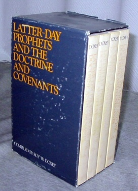 Image for The Latter-day Prophets and the Doctrine and Covenants - Complete set - I,II,III,IV Volumes 1-4 Complete in Slipcase