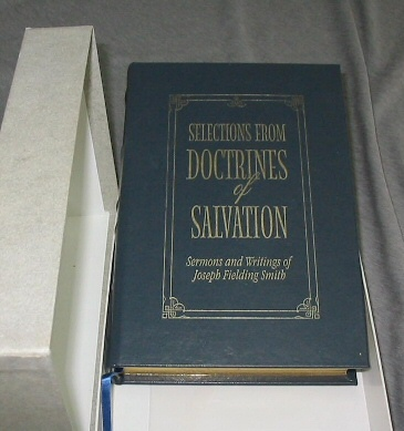 Image for Selections from Doctrines of Salvation - Leather -  Sermons and Writings of Joseph Fielding Smith