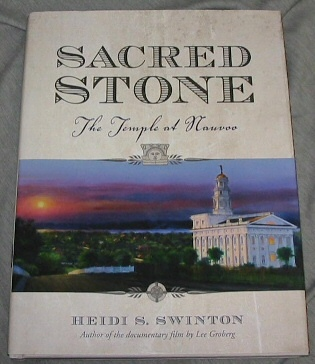 Image for Sacred Stone -  The Temple at Nauvoo  The Temple at Nauvoo