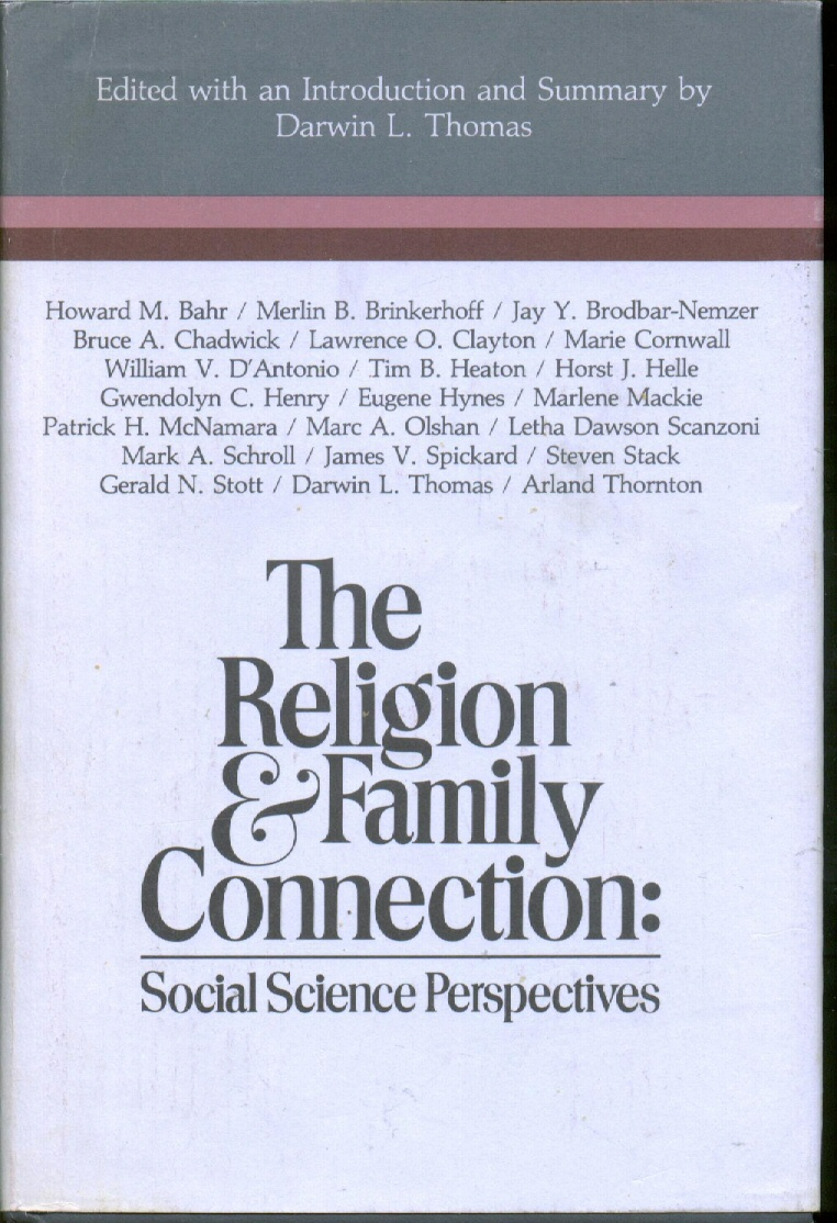 Image for RELIGION AND FAMILY CONNECTION -  Social Science Perspectives