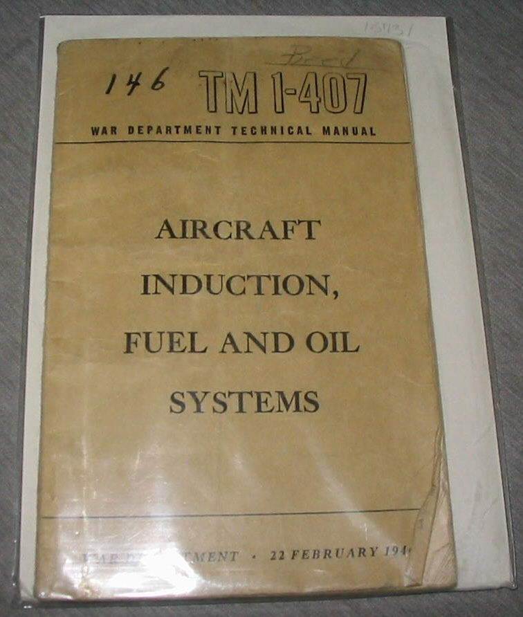 Image for Aircraft Induction, Fuel and Oil Systems - Tm 1-407