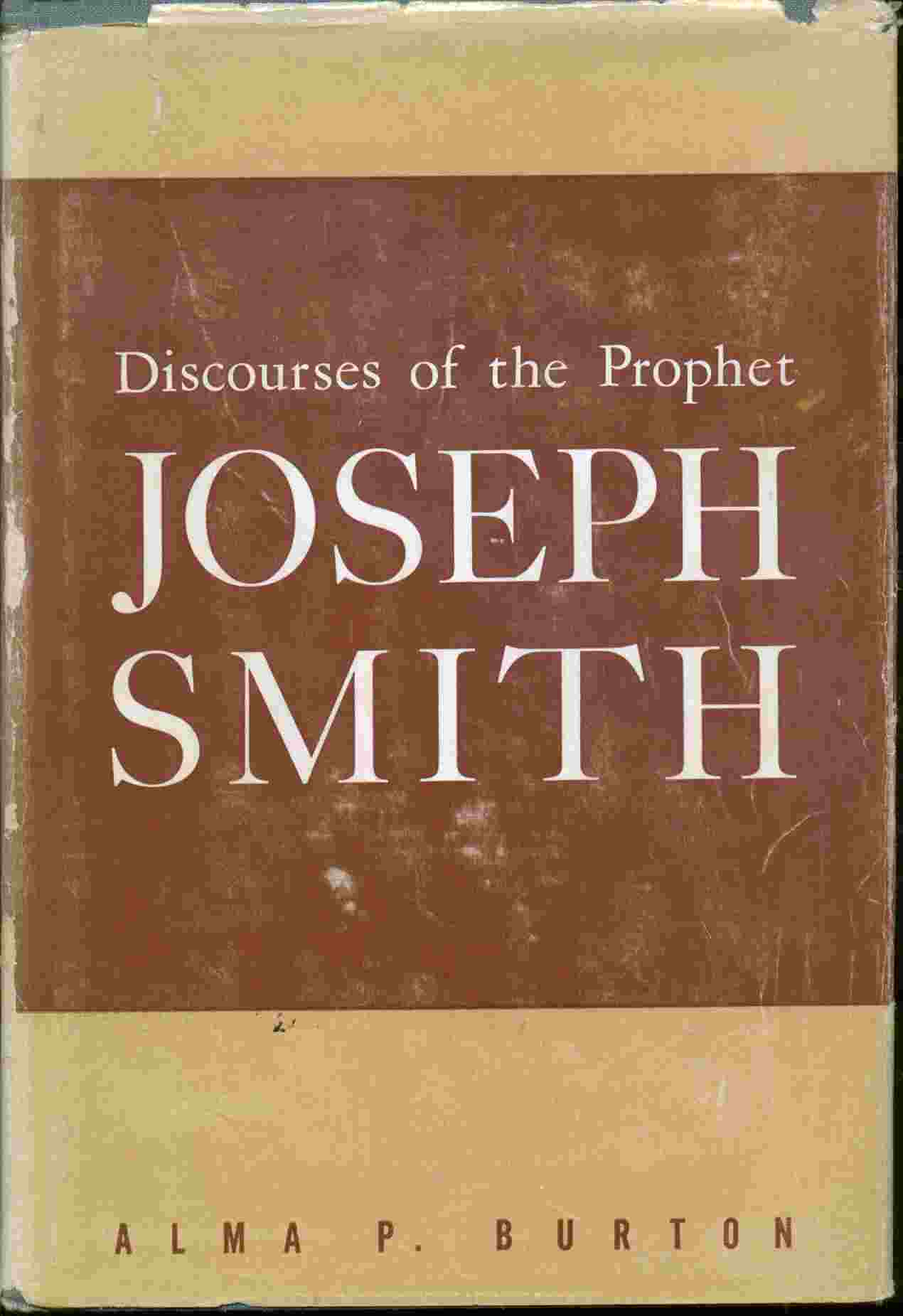 Image for Discourses of the Prophet Joseph Smith