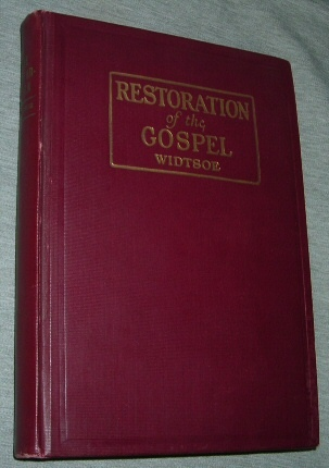 Image for RESTORATION OF THE GOSPEL