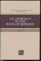 Image for AN APPROACH TO THE BOOK OF MORMON Collected Works of Hugh Nibley