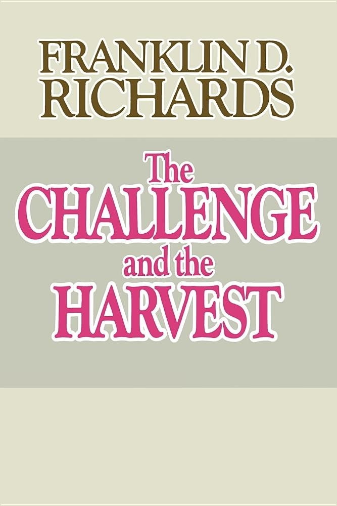Image for CHALLENGE AND THE HARVEST