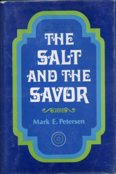 Image for THE SALT AND THE SAVOR