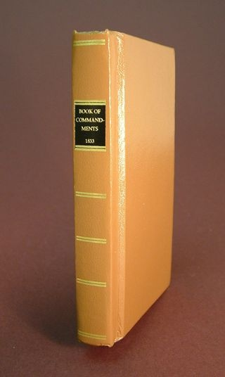 Image for REPLICA OF 1833 BOOK OF COMMANDMENTS MORMON - Brand NEW!