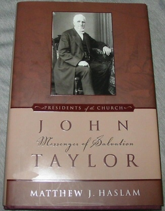 Image for JOHN TAYLOR - Messenger of Salvation