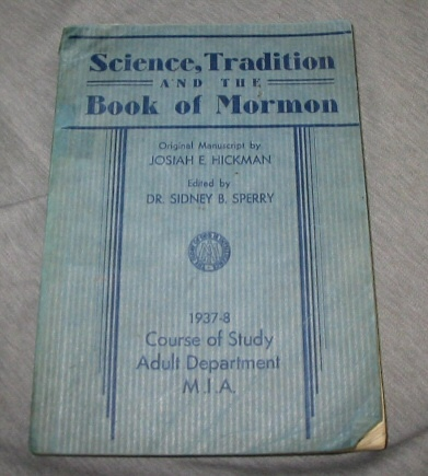 Image for Science, Tradition, and the Book of Mormon