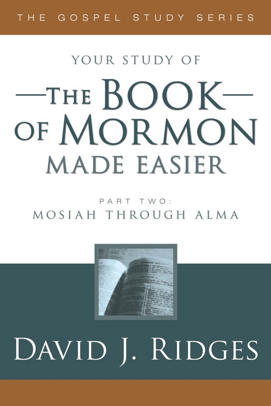 Image for THE BOOK OF MORMON MADE EASIER PART 2 - Mosiah to Alma