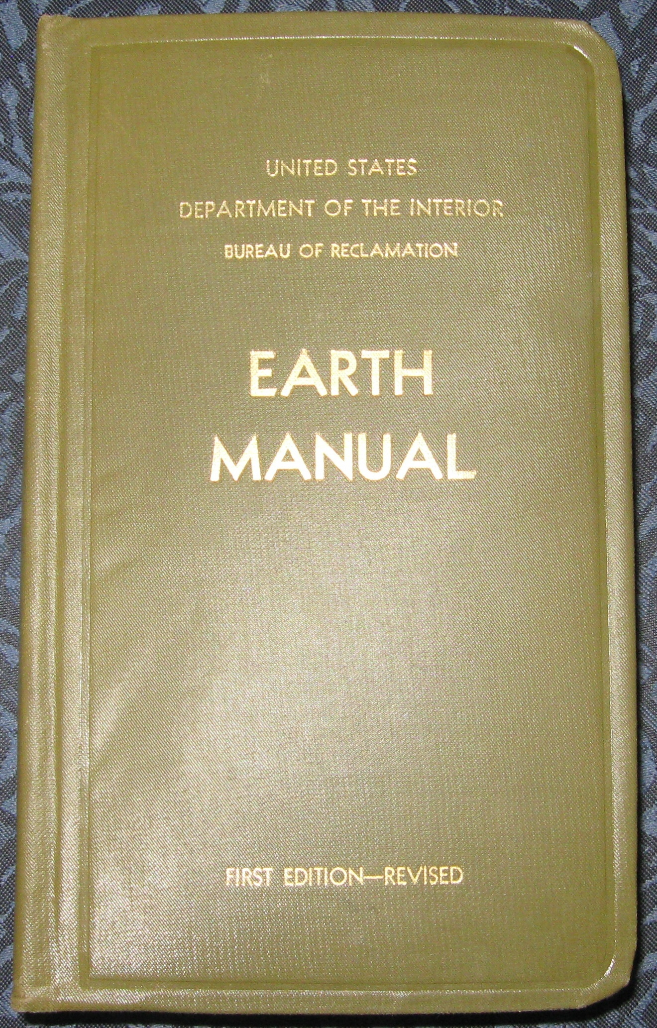 Image for EARTH MANUAL