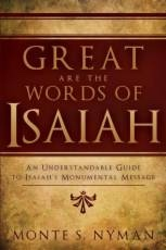 Image for Great Are the Words of Isaiah