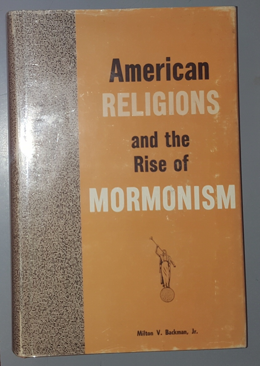 Image for AMERICAN RELIGIONS AND THE RISE OF MORMONISM