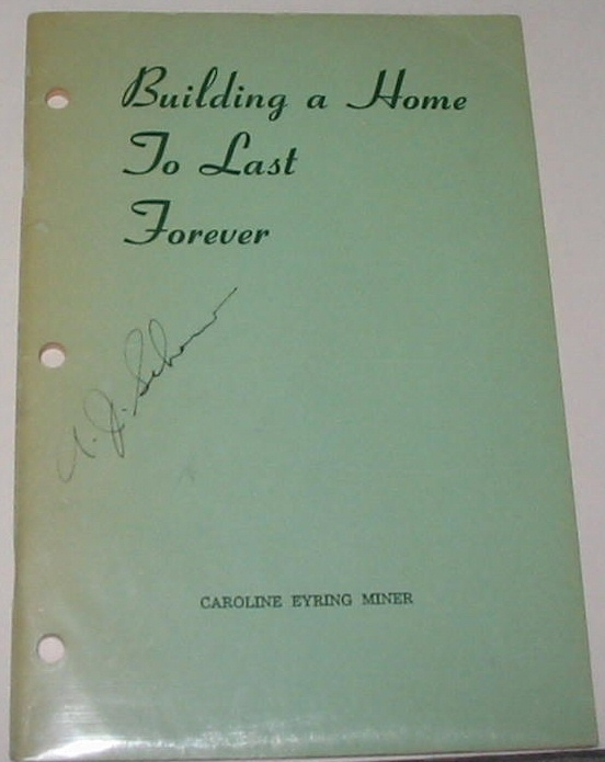 Image for BUILDING A HOME TO LAST FOREVER