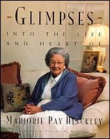Image for GLIMPSES INTO THE LIFE AND HEART OF MARJORIE PAY HINCKLEY