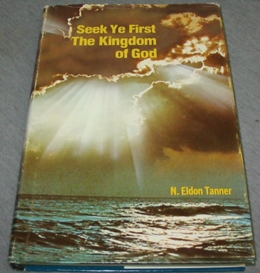 Image for SEEK YE FIRST THE KINGDOM OF GOD