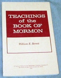 Image for TEACHINGS OF THE BOOK OF MORMON - A Course of Study for the Melchizedek Priesthood Quorums of the Chursh of Jesus Christ of Latter-Day Saints