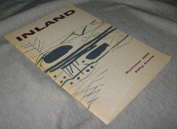 Image for INLAND Summer 1959 Fifty Cents