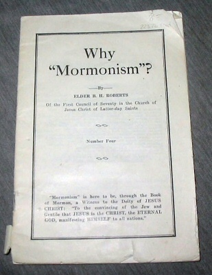 "Image for Why ""Mormonism""? - Number 4"
