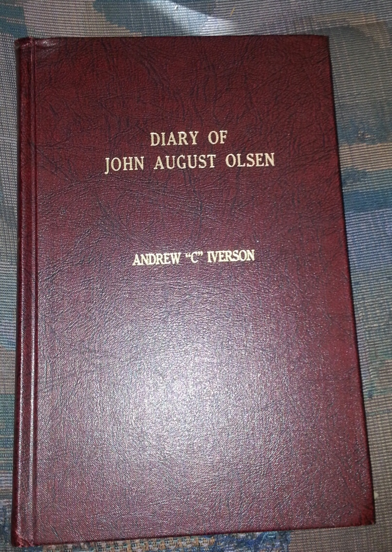 Image for DIARY OF JOHN AUGUST OLSEN