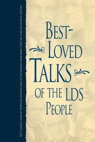 Image for BEST-LOVED TALKS OF THE LDS PEOPLE