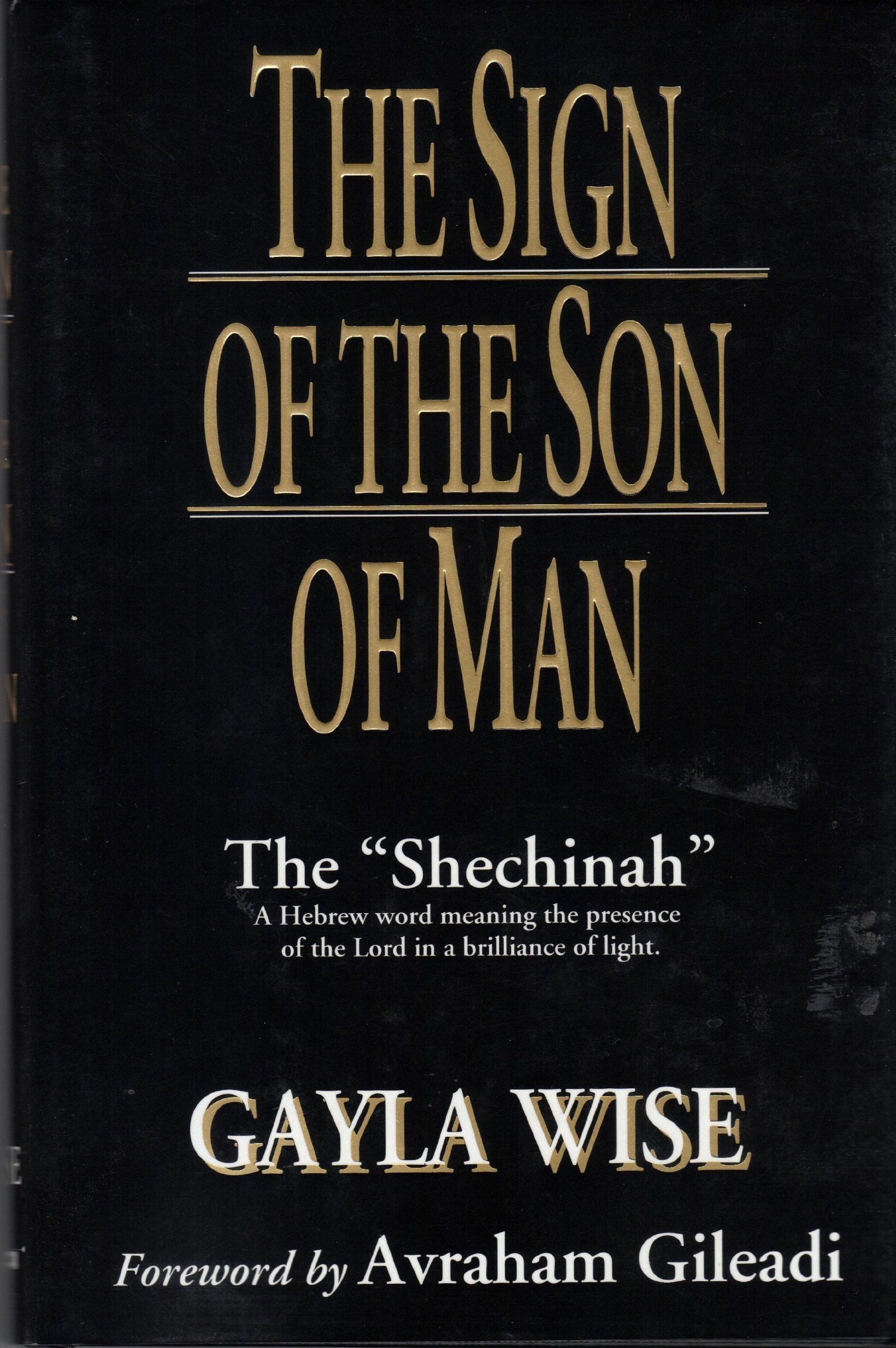 Image for SIGN OF THE SON OF MAN:  The Shechinah