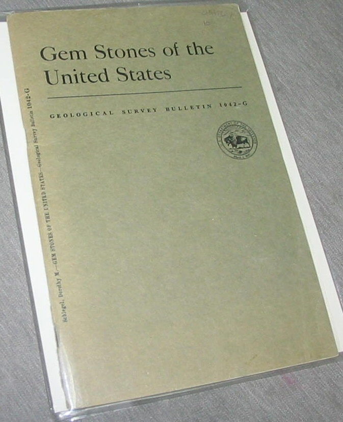 Image for Gem Stones of the United States - Contributions to Economic Geology