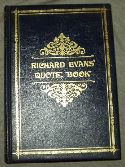Image for Richard Evans' Quote Book
