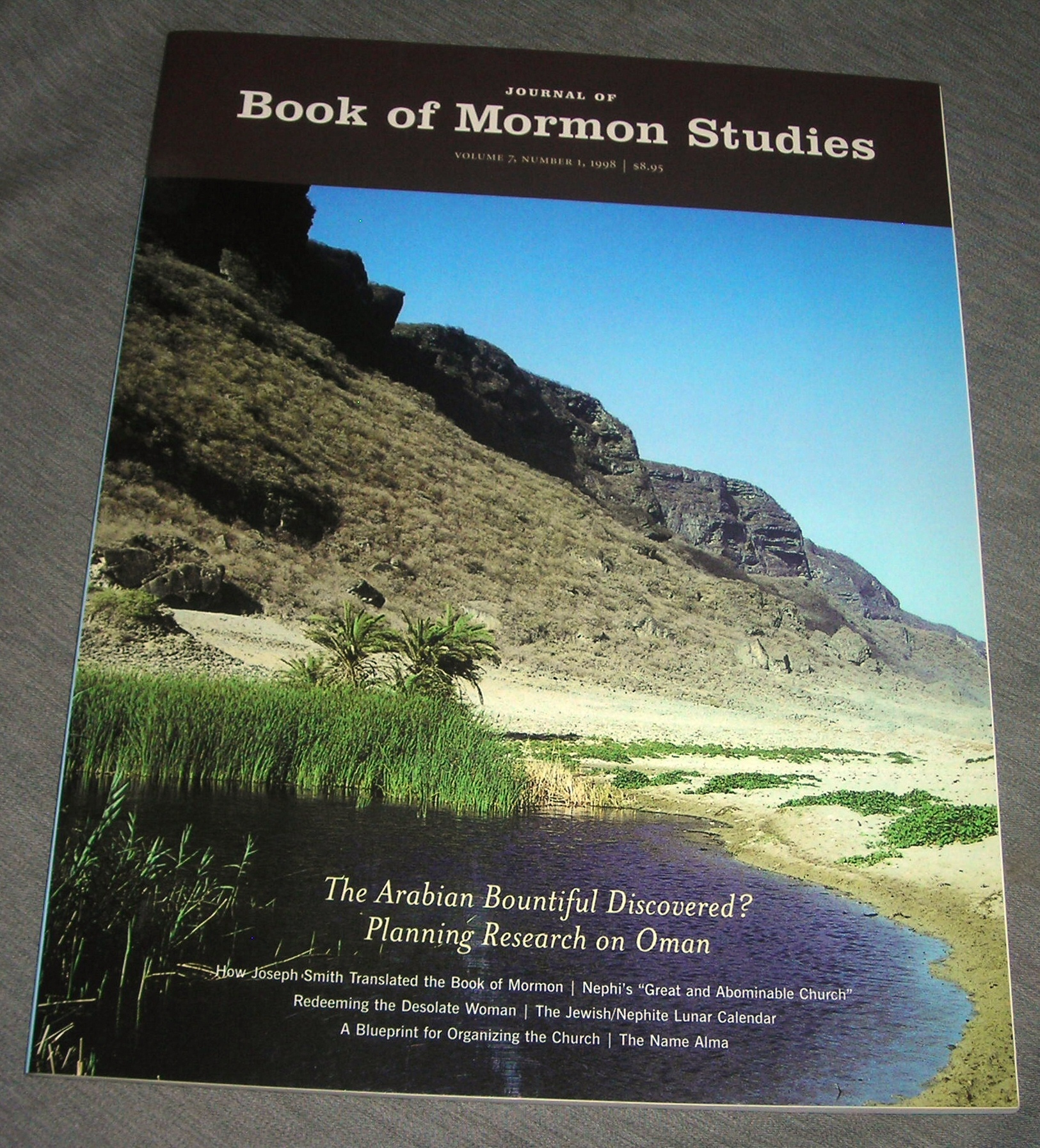 Image for Journal of Book of Mormon Studies;  Vol. 7 / Number 1 / 1998