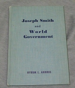 Image for Joseph Smith and World Government