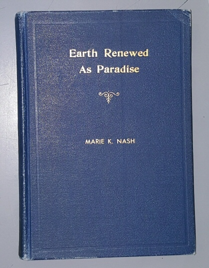 Image for EARTH RENEWED AS PARADISE