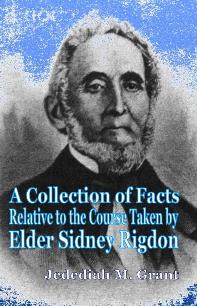 Image for A COLLECTION OF FACTS ABOUT SIDNEY RIGDON (1844)