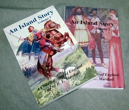 Image for An Island Story - Vol. 1 & 2 - A Child's History of England