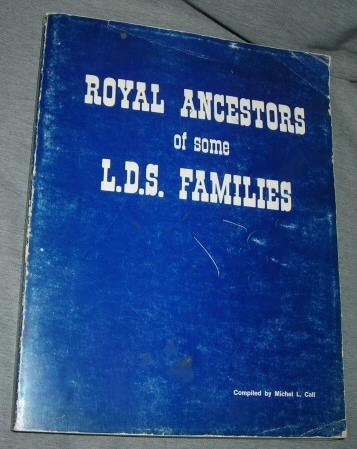 Image for ROYAL ANCESTORS OF SOME L.D.S. FAMILIES