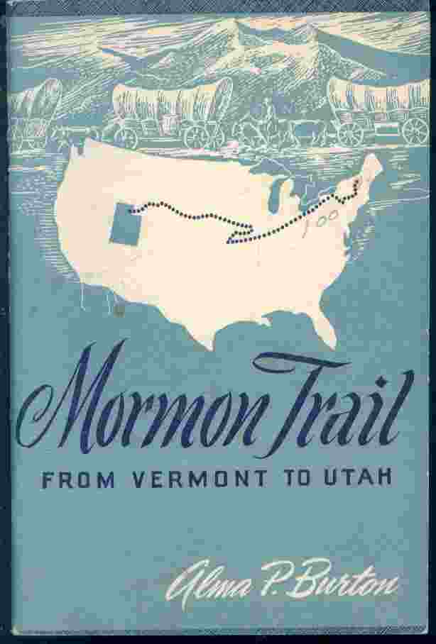 Image for MORMON TRAIL - From Vermont to Utah