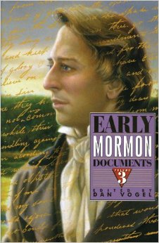 Image for EARLY MORMON DOCUMENTS - VOLUME 3