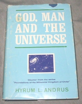Image for GOD, MAN AND THE UNIVERSE -