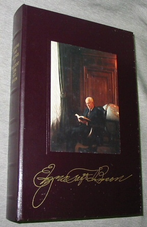 Image for Sermons and Writings of President Ezra Taft Benson - Leather Gift Edition Given to LDS Church Employees.