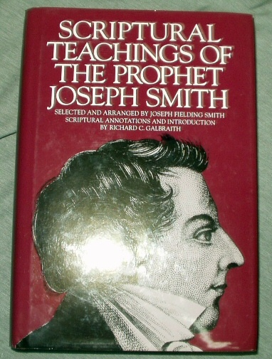 Image for SCRIPTURAL TEACHINGS OF THE PROPHET JOSEPH SMITH