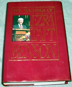 Image for THE TEACHINGS OF EZRA TAFT BENSON