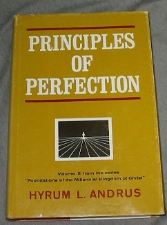 Image for PRINCIPLES OF PERFECTION