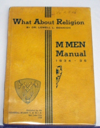 Image for WHAT ABOUT RELIGION M Men Manual 1934-35