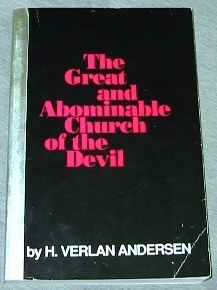 Image for THE GREAT AND ABOMINABLE CHURCH OF THE DEVIL