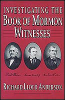 Image for INVESTIGATING THE BOOK OF MORMON WITNESSES
