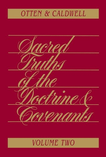 Image for SACRED TRUTHS OF THE DOCTRINE AND COVENANTS